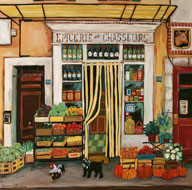 Epicerie des Chasseurs by Suzanne Etienne