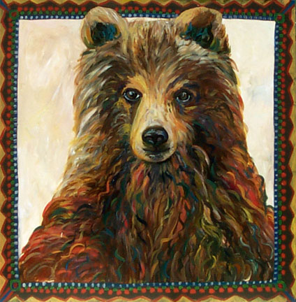 Brown Bear by Suzanne Etienne
