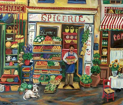 """Epicerie"" by Suzanne Etienne"