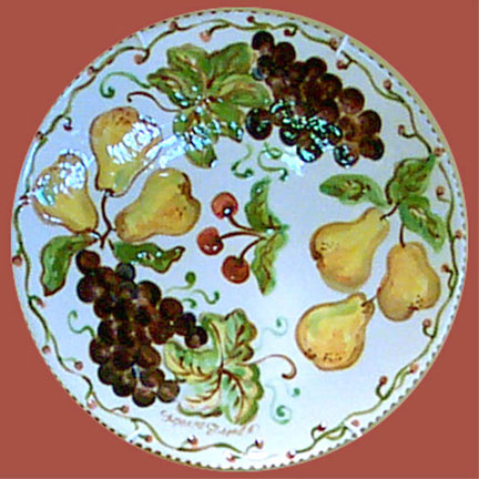 Fruit Plate by Suzanne Etienne