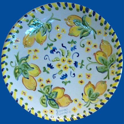 Lemon Plate by Suzanne Etienne