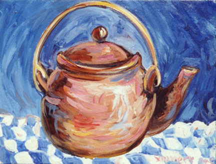 """Teapot - Clay"" by Suzanne Etienne"