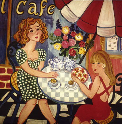 """Two Tarts"" by Suzanne Etienne"