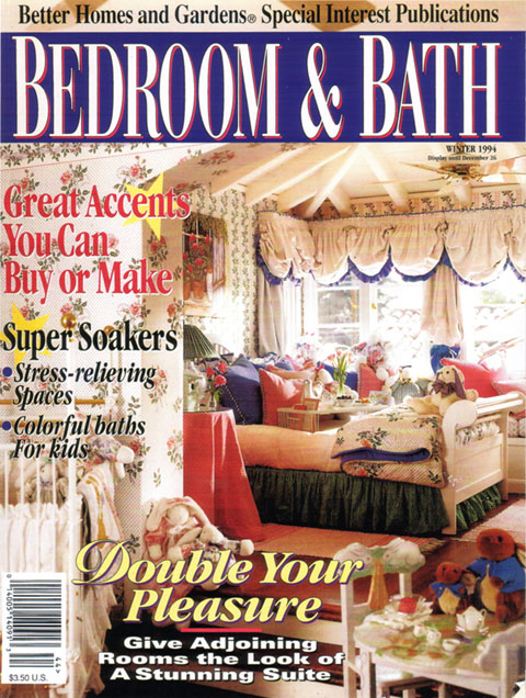 Better Homes & Garden magazine features the art of Suzanne Etienne